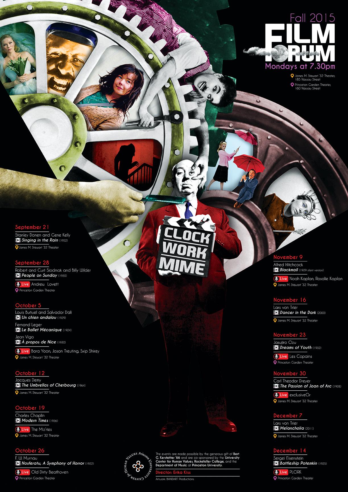 FilmForum 2015 Fall - poster