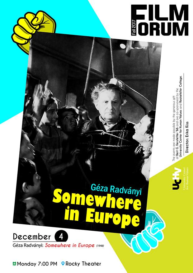 FF2017Fall Propaganda Art - Dec 4 A4 Poster